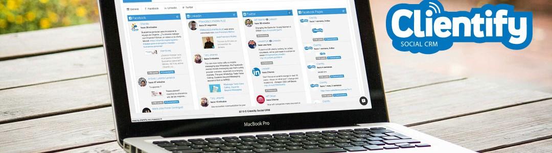 Nace Clientify. El nuevo Social CRM
